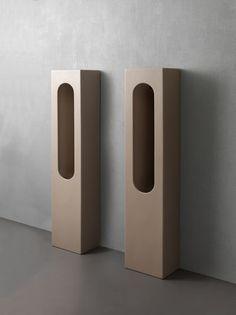 Modern Urinals, Concrete Building, Small Bathroom, Bathroom Ideas, Shower Ideas, Bathrooms, Bathroom Interior, Slot, Designer
