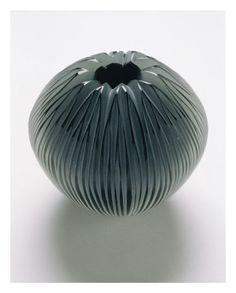 'Untitled' (blown and wheel cut glass) by Natasha Filippelli.
