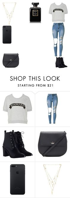 """""""Untitled #1"""" by c-razylove ❤ liked on Polyvore featuring Zimmermann, Kate Spade and Ettika"""