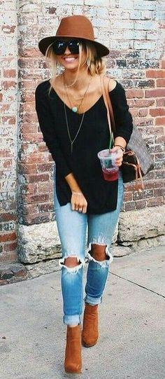 Latest Fashion Trends – This casual outfit is perfect for spring break or the Fall. 37 Insanely Cute Street Style Outfits To Wear Asap – Latest Fashion Trends – This casual outfit is perfect for spring break or the Fall. Trendy Summer Outfits, Fall Winter Outfits, Autumn Winter Fashion, Winter Clothes, Dress Winter, Fashionable Outfits, Winter Coats, Casual Clothes, Fall Work Clothes