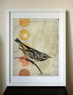 Because of their representation of liberty and freedom, I am always touched by birds and images or artwork of them