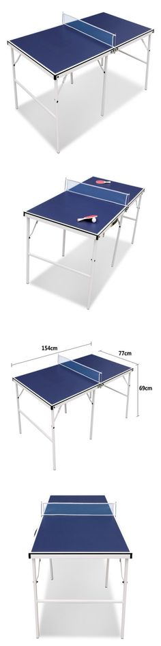 Tables 97075: Home Folding Ping Pong Table Set Tennis Table Indoor Game W Paddles And Balls Kit -> BUY IT NOW ONLY: $98.79 on eBay!