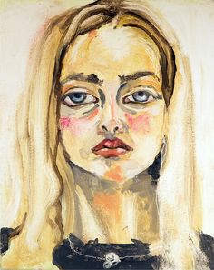 Not a portrait of jemima kirke, but a portrait BY jemima kirke