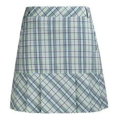 women's clothing, [sku] Plaid Skort,  Skort,  Nivo, ladies golf accessories- From the Red Tees