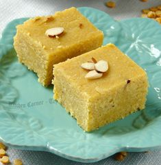 Chana Dal Burfi Chana Dal Burfi is quick and yummy sweet with the lentils and coconut. Burfi is Indian fudge and there is a rang. Indian Dessert Recipes, Indian Sweets, Indian Snacks, Sweets Recipes, Cooking Recipes, Ethnic Recipes, Coconut Desserts, Sweet Desserts, Christmas Sweets