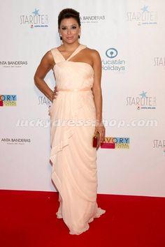 Eva Longoria Dress at Starlite Gala 2011 Photocall - Arrivals (MF646C)