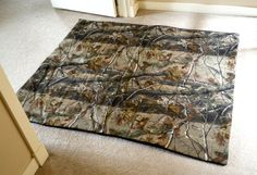 EXTRA Large waterproof pet bed cover  4' x 5'  by ArtfullyAnns