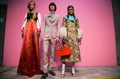Gucci Calls for End to Separation of the Sexes on the Runway - The New York Times