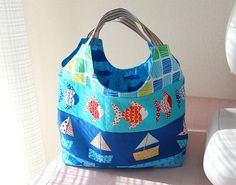 Don't Be Crabby Bag by ayumills, via Flickr