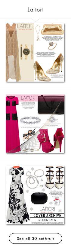 """Lattori"" by angelstar92 ❤ liked on Polyvore featuring lattori, Lattori, Sebastian Milano, SJP, Style & Co., Bebe, Yves Saint Laurent, Mikimoto, Victoria's Secret and R.J. Graziano"