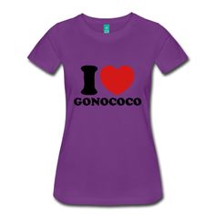 I Love Gonococo - Women's Premium T-Shirt