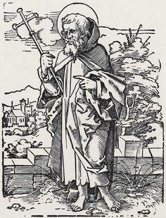 Beham, Hans Sebald: »Die Zwölf Apostel und Christus als Salvator mundi«, Hl. Philippus c.1530