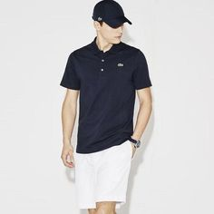 LACOSTE POLO.  CLASSIC PIQUE KNIT SHORT SLEEVE LACOSTE POLO UNCHANGED SINCE RENE LACOSTE INTRODUCED IT IN 1933. AVAILABLE IN WHITE, BLACK, NAVY, BURGUNDY, POWDER BLUE, CHARCOAL. Check our our shirts here: https://www.uomocasuale.ca/collections/shirts/products/lacoste-polo