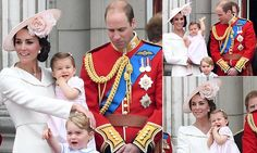 Day Kate's two cuties showed they're right royal little characters