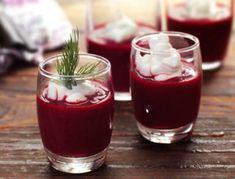 Cold soup with beetroot and yoghurt Greek Recipes, Soup Recipes, Recipies, Healthy Recipes, Healthy Food, Experiment, Beetroot Soup, Red Wine, Health Tips