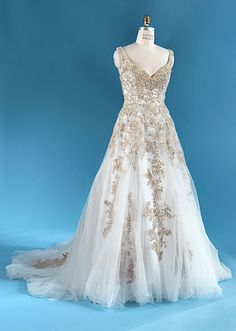 Rapunzel Gown - Collection 6   Alfred Angelo Bridal Collection   Disney's Fairy Tale Weddings & Honeymoons