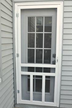 How to Install a Screen Door | Door decks, Screens and Doors