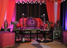 Hookah Party Decorations | Moroccan Theme Party! Hookah Lounge Idea!