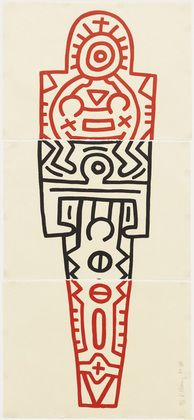 MoMA | The Collection | Keith Haring. Totem. 1989