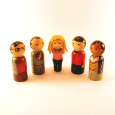 Big Bang Theory Kokeishi from RandomlyGenerated on Etsy