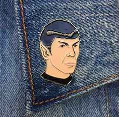 A Spock pin that is very logical.