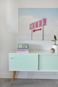 Before and After: Mint Mid-Century Modern Sideboard - visual heart creative studio
