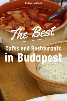 The best cafés and restaurants in Budapest | Mooistestedentrips.nl
