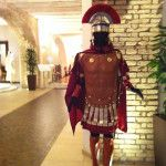 Costume soldato Centurione realizzato a mano da Artinà di Monica Fiorito Costume soldier Centurion handmade by Artinà of  Monica Fiorito