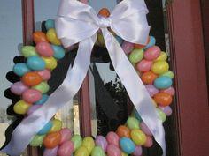 The High Heeled Hostess: My very own Egg-celent Wreath