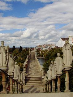 Castelo Branco - Jardim Episcopal, Portugal  I'd love to go here, but think The Doctor might not agree....