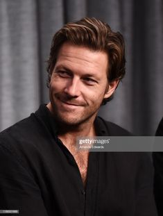 """Actor Luke Bracey attends the SAG-AFTRA Foundation Conversations with """"Lucky Day"""" at the SAG-AFTRA Foundation Screening Room on October 2019 in Los Angeles, California. Get premium, high resolution news photos at Getty Images Ideal Man, A Good Man, Gorgeous Guys, Beautiful Men, Luke Bracey, Passionate Couples, Burning Love, Lucky Luke, Nice Men"""