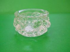 Have one to sell? Sell it yourself         Vintage U S Glass Crystal Open Salt Dip / Cellar ELECTRIC 1891