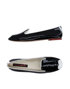 KATIE GRAND LOVES HOGAN Women's Ballet flats Black 9 US
