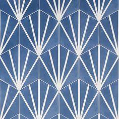HexArt Deco Azul 8
