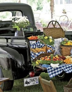 Someday on Hwy128 property keep an old truck to drive around with the boys! Then, have a fancy picnic out of the back! Reminds me of sitting on my grandpa's lap driving his old pick-up...I can still hear the horn and smell the leather bench seat.