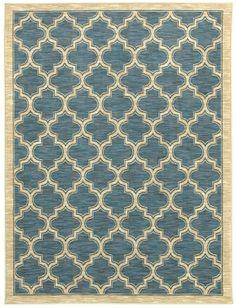 Shaw Mirabella Milazzo Blue (01400) Area Rugs