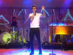 Maroon 5 rocks Studio 1A on #Today with 'One More Night' Reggae Mon!