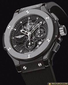 WORLDS MOST RARE MENS Luxury Watches | Most expensive luxury watches hublot aero bang morgan watch | Raddest Men's Fashion Looks On The Internet: http://www.raddestlooks.org #menluxurywatches #menswatchesexpensive #luxurywatches #menswatchesfashion