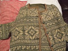 antique Norwegian sweater