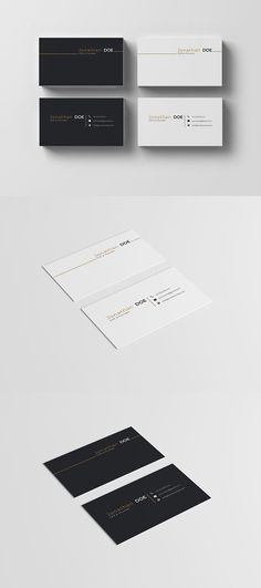 Business Card Template #businesscard #cleancard