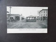 1900s Casper Wyoming Street Scene with bandstand
