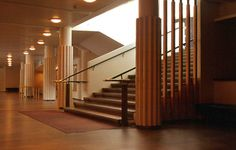 Teatro de Jyvaskyla Alvar Aalto, Stair Steps, Stairs, Home Decor, Theater, Stairway, Decoration Home, Room Decor, Stair Treads