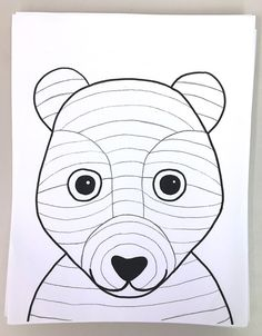 SPRINGTIME BUNNY, BEAR OR FOX! Grade – Art with Mrs Filmore How adorable are these? This lesson took art classes to finish (and I had JUST enough time to squeeze in one more lesson before the end of the year)! It's a simple one —but packs in a bunch! Bear Template, Bunny Templates, Drawing Templates, Art 2nd Grade, Third Grade, Classe D'art, Value In Art, Bunny And Bear, Student Drawing