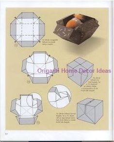 Head to the webpage to read more on Origami Art Origami Design, Diy Origami, Origami Gift Box, Origami Paper Folding, Origami And Kirigami, Diy Gift Box, Origami Bookmark, Useful Origami, Origami Instructions
