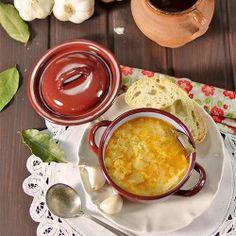 Sopas de Ajo | Garlic Soup | FoodEpix