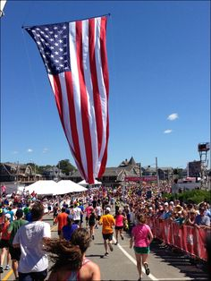 Falmouth Road Race - Finish Line Flag