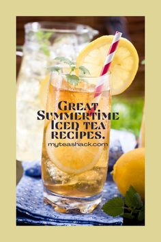 Summer means cold and refreshing drinks, which can quench our thirst and more. If this is iced tea, besides refreshing and fun with a variety of flavors, is already proven to be beneficial to our health. Papaya Leaf Tea, Best Tea Brands, Healthy Drinks, Healthy Recipes, Iced Tea Recipes, Tea Benefits, Non Alcoholic Drinks, Refreshing Drinks, Summertime