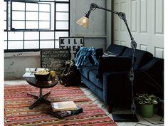 FLYMEe Factory ART WORK STUDIO CUSTOM SERIES Engineer Floor Lamp × Trans Mini