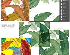 Graphic Design Illustration, Adobe Illustrator, Plant Leaves, Digital Art, Behance, Photoshop, Plants, Corporate Identity Design, Digital Illustration