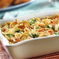 Swiss Vegetable Casserole--I love this! I use California Mix---and LOVE how delicious this is!